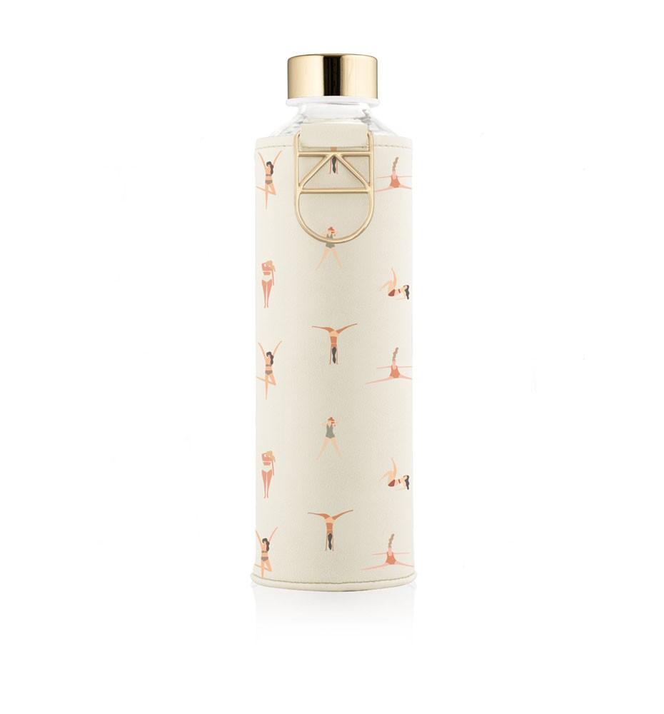 butelka na wodę w etui ze sztucznej skóry equa mismatch playa 750 ml