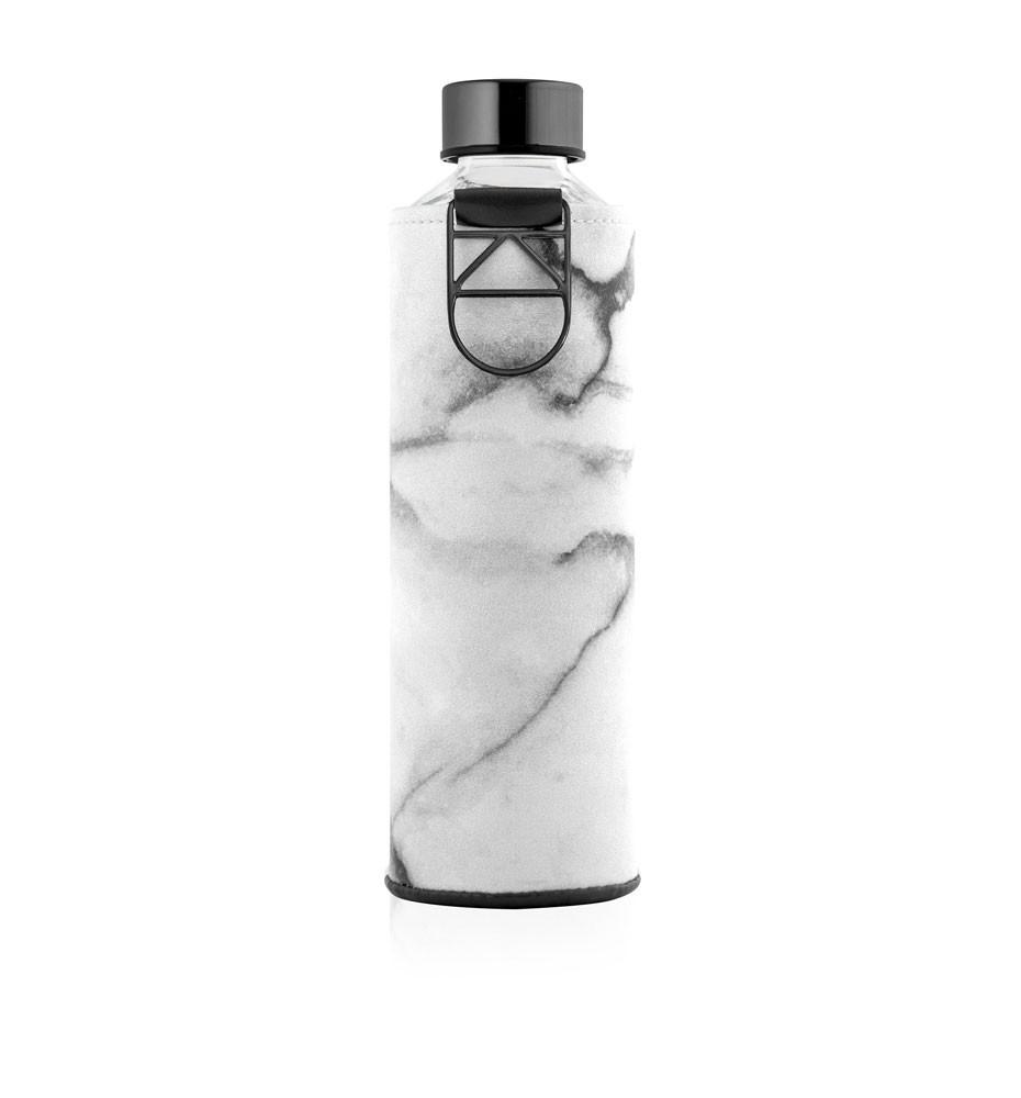 butelka na wodę w etui ze sztucznej skóry equa mismatch stone 750 ml
