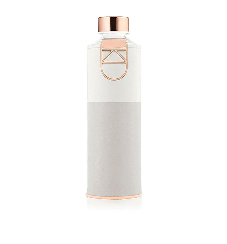 butelka na wodę w etui ze sztucznej skóry equa mismatch sage 750 ml