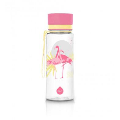 euqa bidon na wodę BPA free flamingo 600 ml